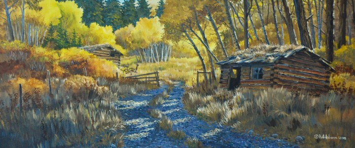 Duck Ranch At Hat Creek - Acrylics & Oils - Original Artwork - Acrylics, Oils & Watercolours