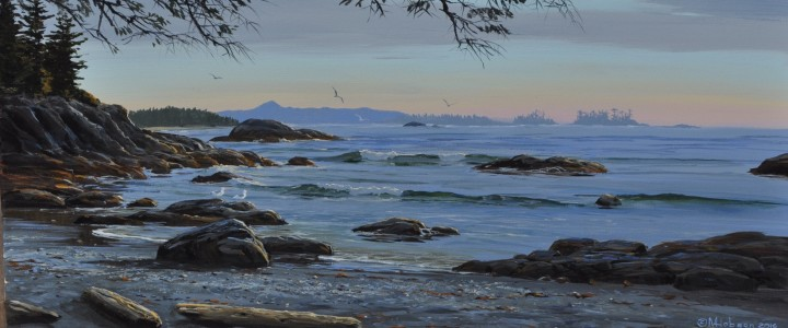 Shell Beach Afternoon - Acrylics & Oils - Original Artwork - Acrylics, Oils & Watercolours