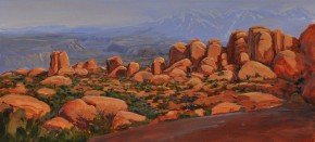 La Sal Mountains, Arches National Park: Utah
