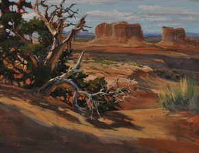 Juniper Tree In Canyonlands: Utah