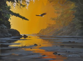 Bald Eagle: Flying Into The Dawn II