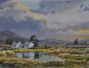 Evening Reflections: County Mayo, Ireland