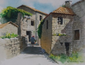 The Back Alley: Korcula Croatia