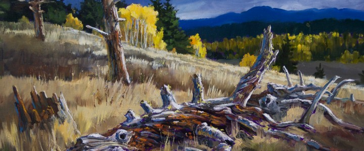 Hat Creek Valley: Resting In Peace - Acrylics & Oils - Original Artwork - Acrylics, Oils & Watercolours