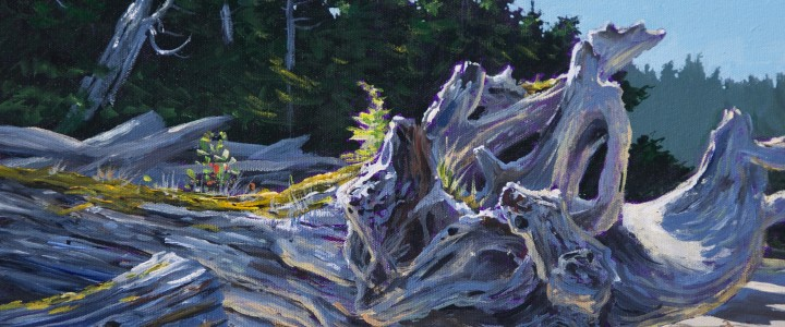 Goose Islands: Ancient Roots - Acrylics & Oils - Original Artwork - Acrylics, Oils & Watercolours