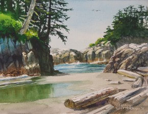 Calvert Island: Eighth Beach