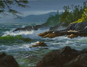 Wild Pacific Trail, Ucluelet: Building Storm