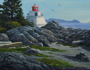 Ucluelet: Amphitrite Light In Summer