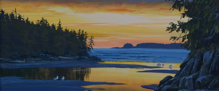 Tonquin Evening - Acrylics & Oils - Original Artwork - Acrylics, Oils & Watercolours