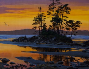 Tonquin Beach: March Twilight
