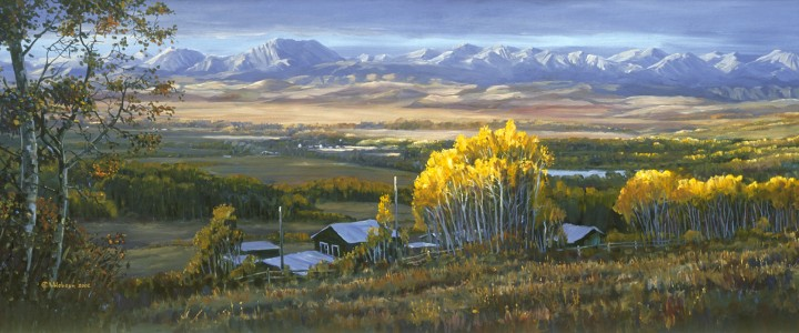 Panorama Ranch - Giclees - Artwork Reproductions - Giclees, Paper Prints, Prints and Gift Store