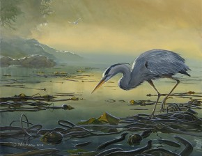 Great Blue Heron: A Delicate Balance