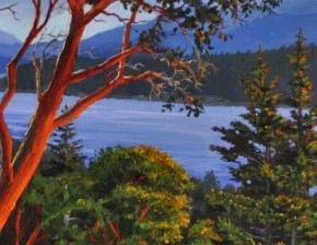 Arbutus: Over Looking Stuart Channel