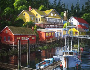 Bamfield Harbour