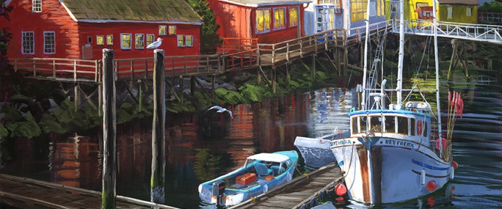 Bamfield Harbour - Giclees - Artwork Reproductions - Giclees, Paper Prints, Prints and Gift Store