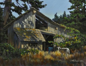 Barn at Halfmoon Farm: Gabriola