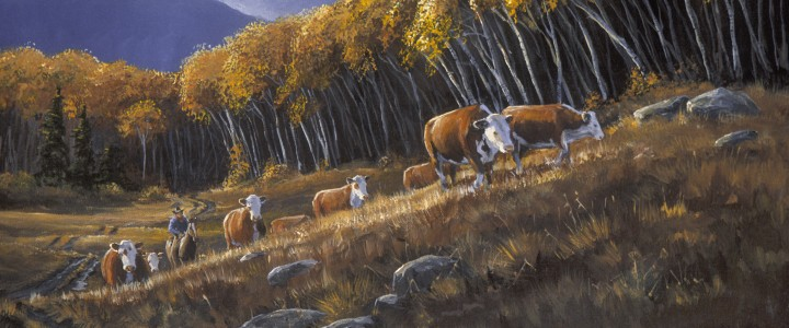 Cattle Drive - Giclees - Artwork Reproductions - Giclees, Paper Prints, Prints and Gift Store