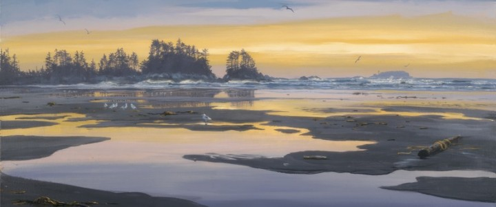 Chesterman Beach Reflections - Giclees - Artwork Reproductions - Giclees, Paper Prints, Prints and Gift Store