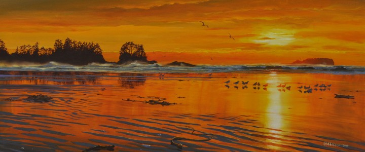 Chesterman Beach: The Golden Hour - Giclees - Artwork Reproductions - Giclees, Paper Prints, Prints and Gift Store