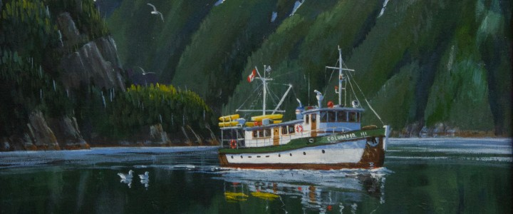 Columbia III In Poison Cove  - Acrylics & Oils - Original Artwork - Acrylics, Oils & Watercolours