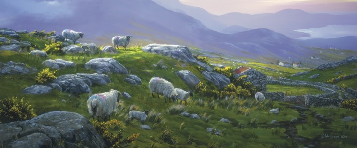 Ireland: Donegal Morning - Acrylics & Oils - Original Artwork - Acrylics, Oils & Watercolours