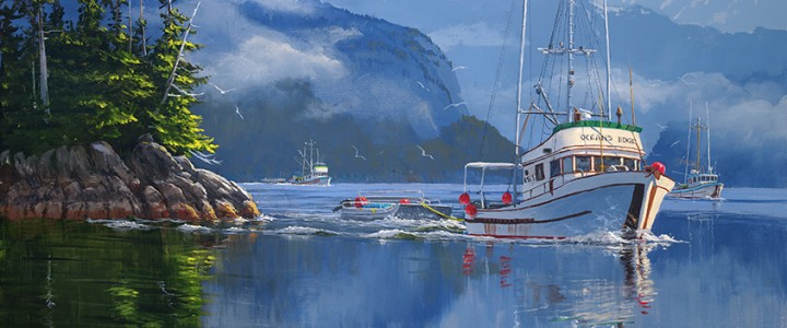 Herring Season - Giclees - Artwork Reproductions - Giclees, Paper Prints, Prints and Gift Store