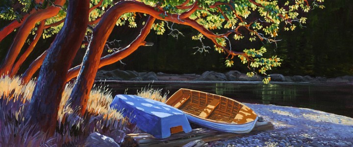 In the Shade of the Arbutus - Giclees - Artwork Reproductions - Giclees, Paper Prints, Prints and Gift Store