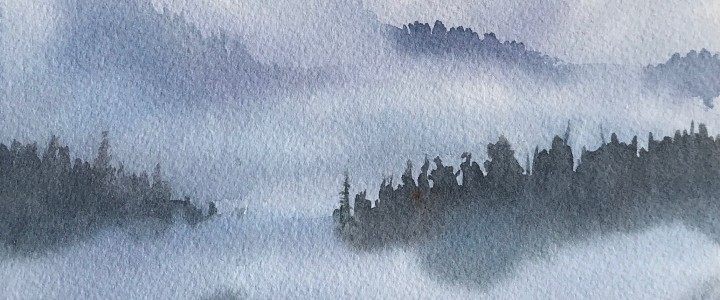 Inlet Mists - All Originals Available - Original Artwork - Acrylics, Oils & Watercolours