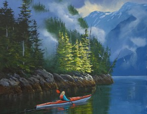 Kayaking In Bedwell Inlet