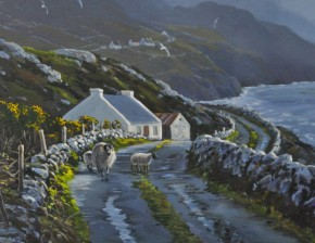 The Road To Corhy Head: Donegal, Ireland