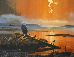 Bald Eagle: Eyeing the Estuary