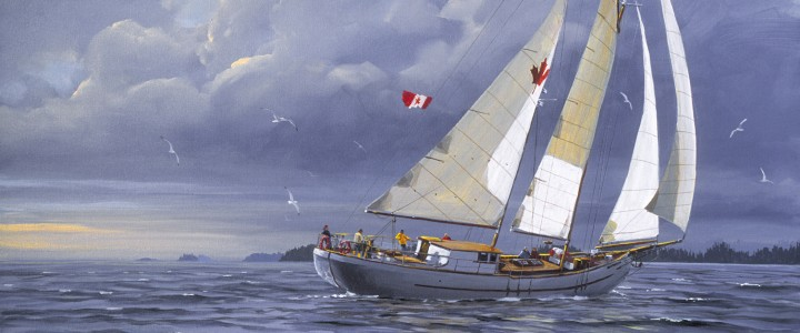 Maple Leaf: Seaforth Channel - Giclees - Artwork Reproductions - Giclees, Paper Prints, Prints and Gift Store