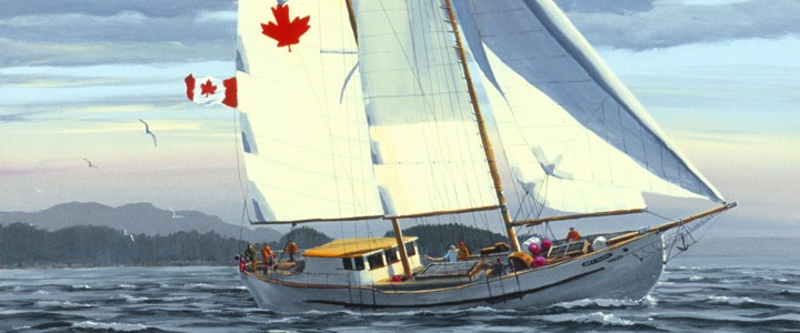 Maple Leaf Voyage - Giclees - Artwork Reproductions - Giclees, Paper Prints, Prints and Gift Store
