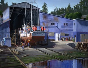 Nanaimo Shipyard: Restoring The Jolly Roger