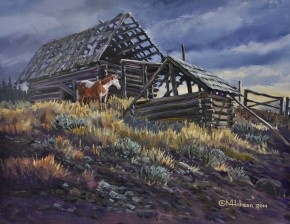 Old Jasper Barn Near Riske Creek (West of Williams Lake)