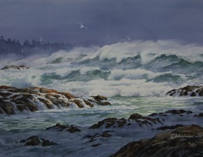 Raging Winter Seas