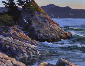 Rosie Bay: Evening Light