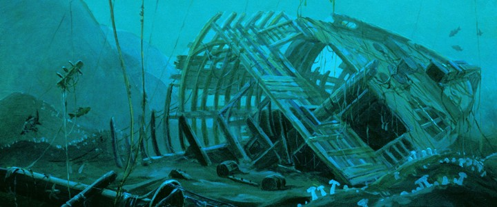 Shipwreck - Giclees - Artwork Reproductions - Giclees, Paper Prints, Prints and Gift Store