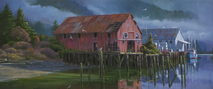 Old Port Albion Cannery - Giclees - Artwork Reproductions - Giclees, Paper Prints, Prints and Gift Store