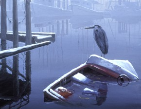 Great Blue Heron: The Opportunist