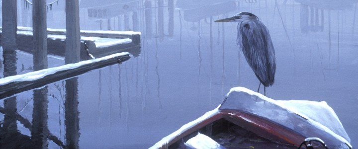 Great Blue Heron: The Opportunist - Giclees - Artwork Reproductions - Giclees, Paper Prints, Prints and Gift Store