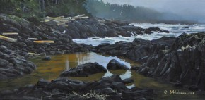 WORKSHOP - TOFINO: Painting Water with Acrylics (SOLD OUT)