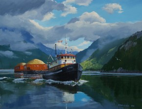 Tug: MV Songhee In Howe Sound