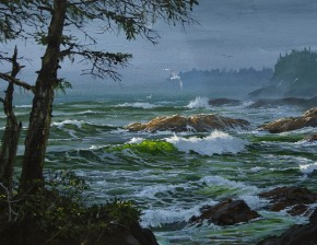 Ucluelet Rugged Shoreline