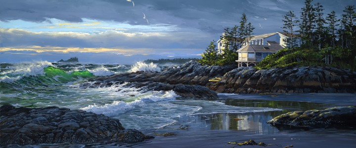 Wickaninnish Inn: Storm Season - Giclees - Artwork Reproductions - Giclees, Paper Prints, Prints and Gift Store