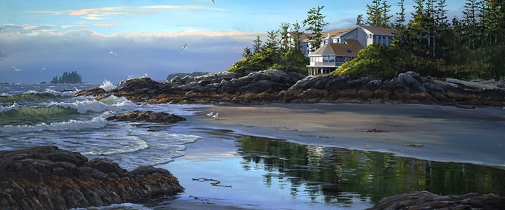 Wickaninnish Inn Reflections - Giclees - Artwork Reproductions - Giclees, Paper Prints, Prints and Gift Store