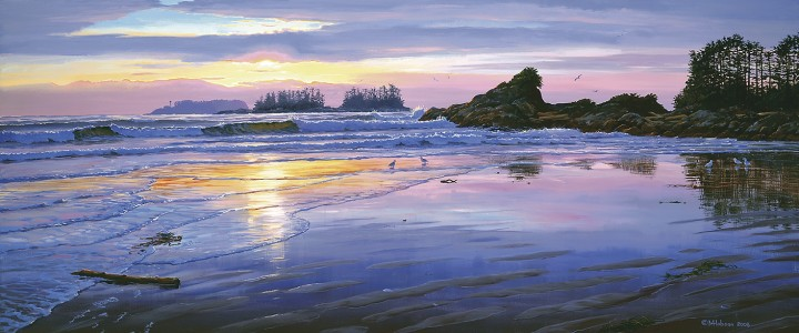 Cox Bay - Art Cards & Blockmounts - Artwork Reproductions - Giclees, Paper Prints, Prints and Gift Store